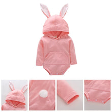 Load image into Gallery viewer, Bunny Animal Infants Romper (3 - 18 months) - GoFancy