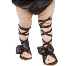 Load image into Gallery viewer, Roman Butterfly Bow Sandals - Age: 6 to 24M