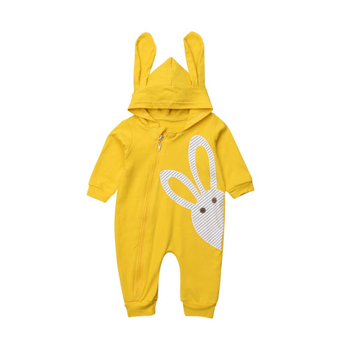 The Peeking Bunny Jumpsuit (3 - 18 M)