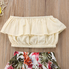 Load image into Gallery viewer, Trendy Short Top + Stylish Long Skirt (9 M - 5 Y)
