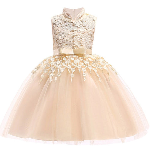 First Communion Dress with Bow Sash (2 - 8 Y)