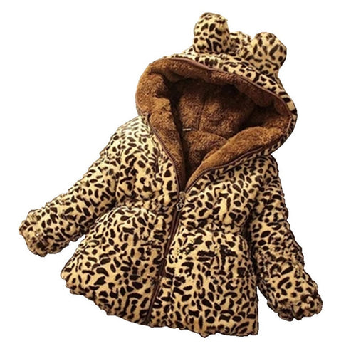 Thick Leopard Jacket (9M - 5Y)