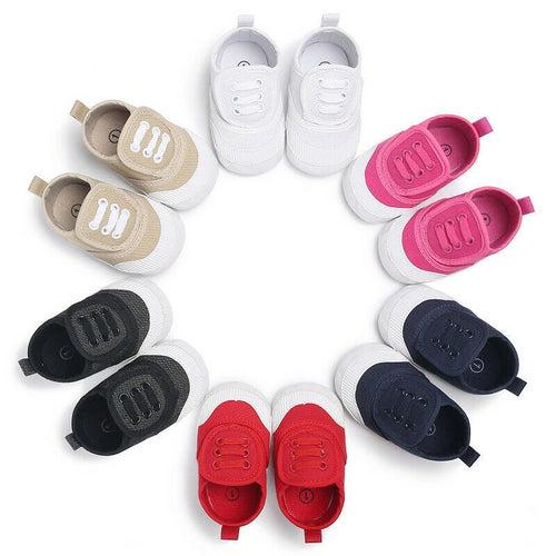 Solid Infant Trainers (0 - 15 M)