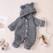 Load image into Gallery viewer, Grandma's Knitted Woolen Bodysuit (3 - 18 M)