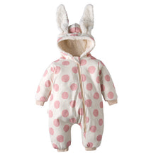 Load image into Gallery viewer, Winter Hooded Snowsuit (6 - 24M)