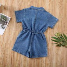 Load image into Gallery viewer, Summers Classic Solid Denim Jumpsuit