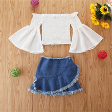 Load image into Gallery viewer, Bold & Beautiful Top & Skirt Set - Size Range: 1 to 5 Years