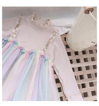 Load image into Gallery viewer, Fairy Rainbow Princess Outfit - Sizes 3 to 8 years
