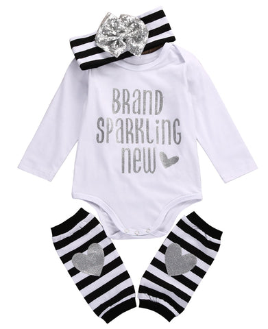 The Most Adorable 'Brand Sparkling New' Outfit (0 - 12 M)