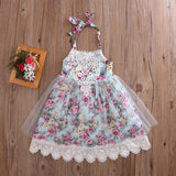 Beautiful Kids Lace Floral All-Occasion Dress (9M - 6 Y)