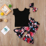 3 Pieces Fancy Outfit for Baby Girls (2-5 Y) - GoFancy