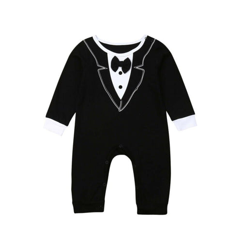 The Tuxedo Styled Jumpsuit (3 - 18 M)