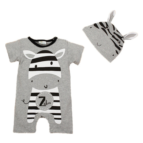 2 Piece Baby Rompers (6-24 M) - GoFancy