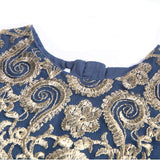 Amazing Frock with Tilla Work Embroidery (2 - 8 Y) - GoFancy