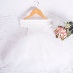 Princess Vibes Off-Shoulder Party Frock