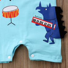 Load image into Gallery viewer, The Music Festival Romper (3 - 24 M)