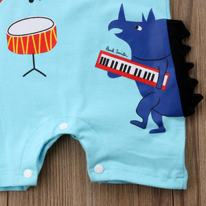 The Music Festival Romper (3 - 24 M)