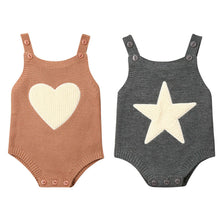 Load image into Gallery viewer, Star vs Heart Knitted Rompers