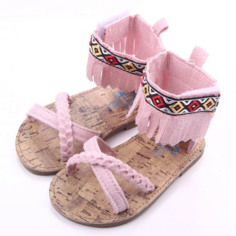Infant First Walkers Soft Sandals (0 - 15 M)