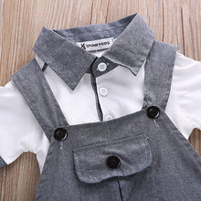 Load image into Gallery viewer, Daring Dungaree with Gentleman's Polo Top (3 - 18 M)