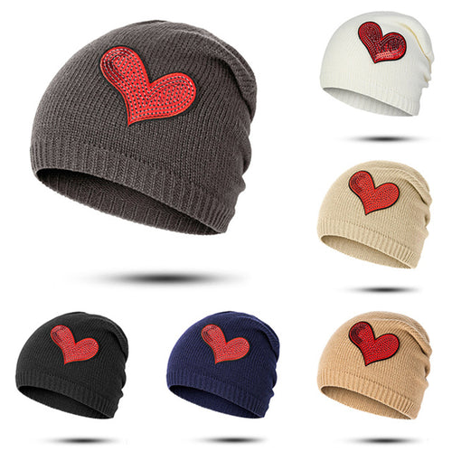 The Shiny Heart Beanie (1 - 5 Y)
