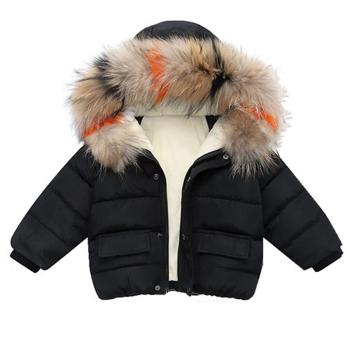 Warm Fashion Parkas Jacket (1 - 5 Y)