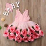 Celebrity Styled Rose Party Pageant Dress (1.5 - 6 Y) - GoFancy