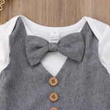 Formal 2 Piece Gentleman Fancy Outfit (3 - 18 M)