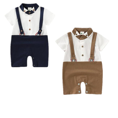 The Suited Gentleman Series (0 - 18 M)