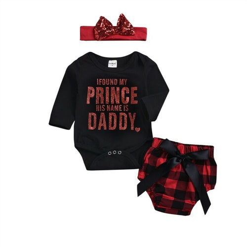 Trendy Daddy Prince Series 3 Pc Set (0 - 12 M)