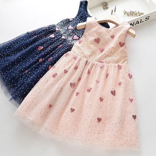 Frock with Super Cute Fancy Hearts