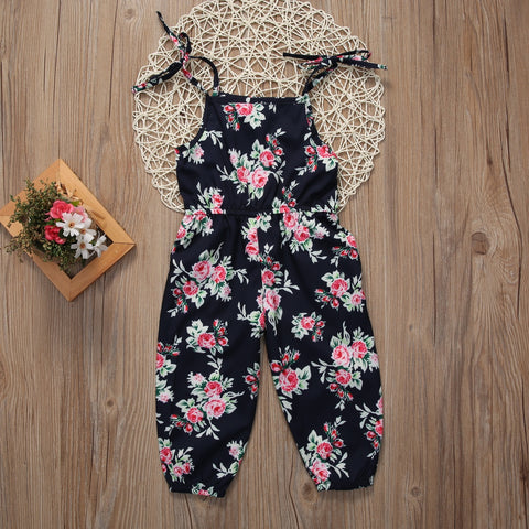 The Floral Girl Jumpsuit 2019 (9M - 6Y)