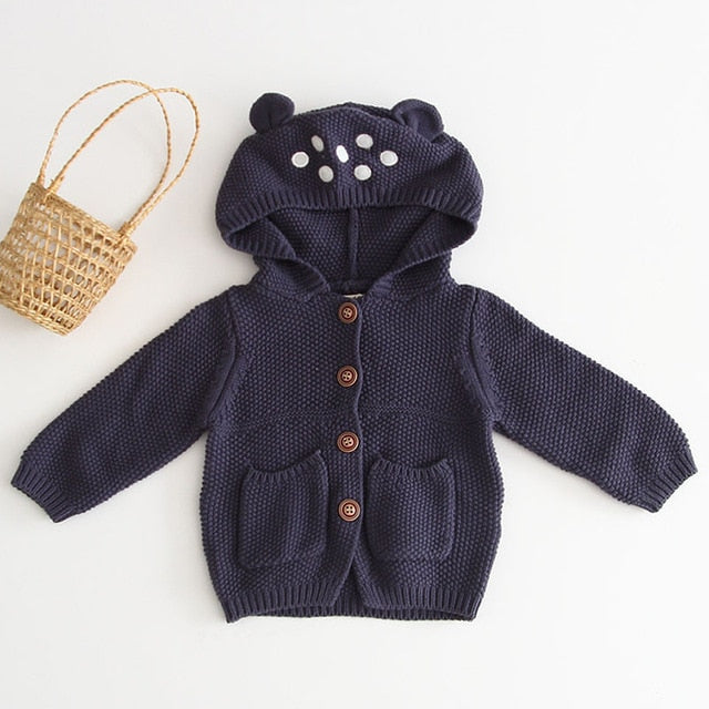 The Cardigan - Age Range: 3 to 24 Months