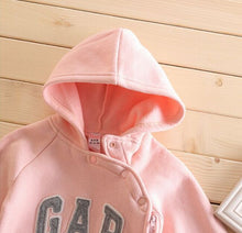 Load image into Gallery viewer, The G.A.P. Hooded Jumpsuits - Size Range: 3 to 18 Months