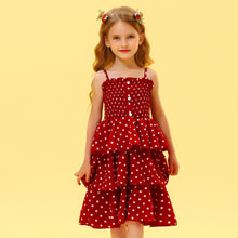 Load image into Gallery viewer, Dotted Sling Frock - Size Range: 1 to 6 Years