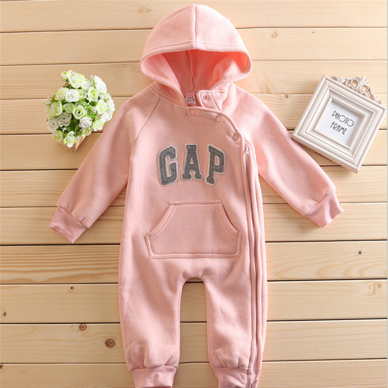 The G.A.P. Hooded Jumpsuits - Size Range: 3 to 18 Months