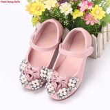 Beaded & Pearled Princess Shoes (1 - 12 Y) - GoFancy