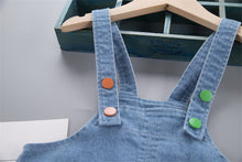 Load image into Gallery viewer, Kids Baby Boys Girls Denim Long Jeans patchwork Overalls Toddler Fashion Infant Boy Girl Playsuit Clothes Clothing Long Trousers