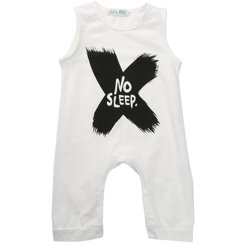 'No Sleep' Jumpsuit (3 - 18 M)
