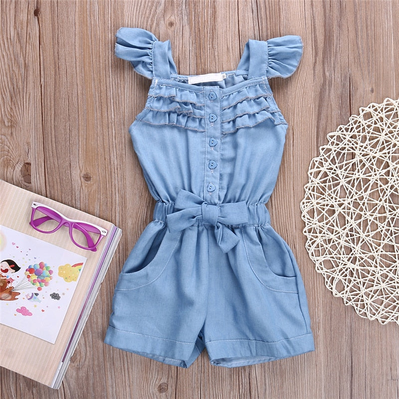 Soft Cotton Denim Outfit (1- 5 Y)