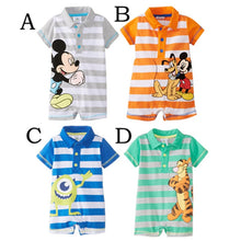 Load image into Gallery viewer, Disney Cartoons Printed Rompers (6-24 M) - GoFancy