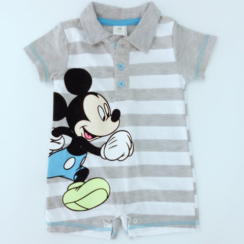 Disney Cartoons Printed Rompers (6-24 M) - GoFancy