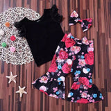 3 Pieces Fancy Outfit for Baby Girls (2-5 Y)