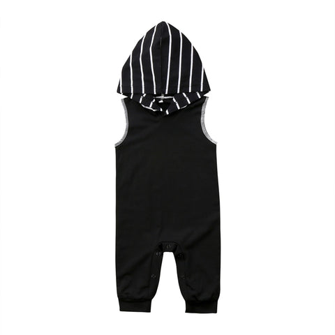 Sleeveless Hooded Jumpsuit (6 - 24M)