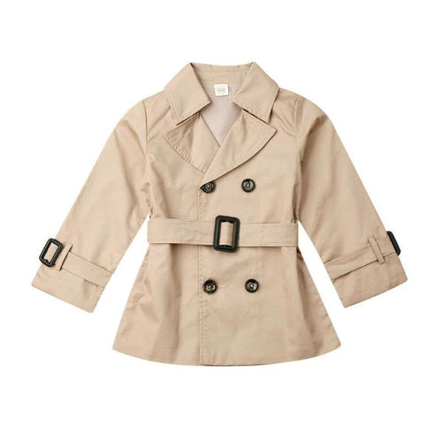 The Autumn Western Trench Coat (1 - 5 Y)
