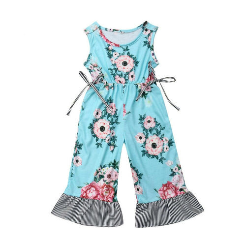 Bell Bottomed 80's Fashion Jumpsuit (1 - 6 Y)
