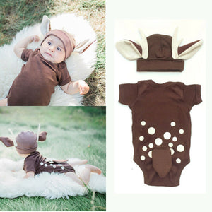 Super Cute Animal Cartoon Outfit (2 Piece)