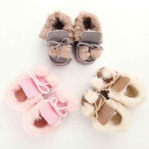 Soft Sole Snow Booties (0 - 15 M)