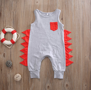 The Stud Tank Jumpsuit (3 - 18 M)