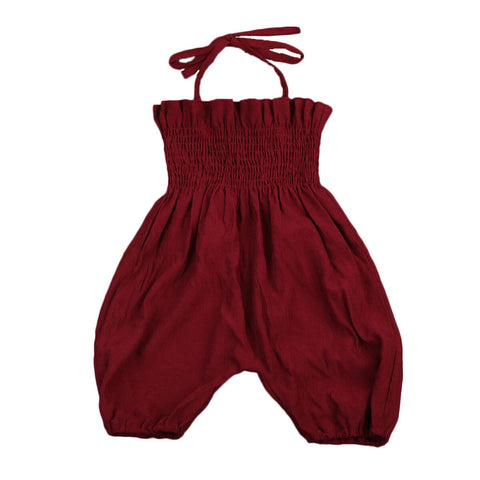 'Tie it up' Soft Tank-Jumpsuit (9 M - 4 Y)